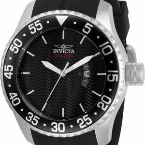 Invicta 32658 Pro Diver Men's Black Silicone Watch